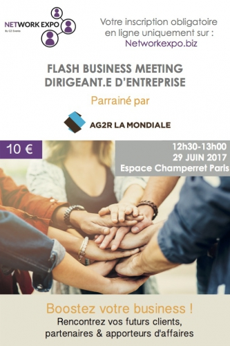 Business, Dirigeant, Flash, Salon, Network Expo,